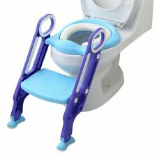 Baby Toddler Child Potty Training, Height Adjustable Toilet Potty Trainer Seat