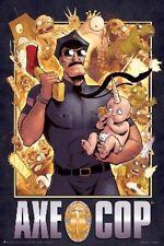COMIC POSTER Axe Cop Cover