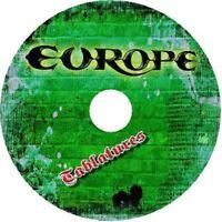 EUROPE BASS & GUITAR TAB CD TABLATURE GREATEST HITS BEST OF ROCK MUSIC METAL