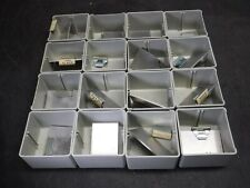 Used Nice Lot of 64 Stanley Vidmar BN-25-44 Bins With Dividers/Clips Q6