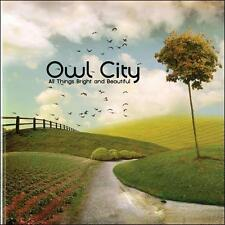 FREE US SHIP. on ANY 2 CDs! ~Used,VeryGood/Good CD Owl City: All Things Bright A