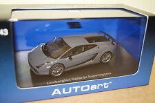 Lamborghini Gallardo Superleggera grau 1:43 AUTOart neu & OVP 54613