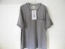 Herren Pyjama, Schlafanzug Gr.46 - 48 / M , kurz, grau , HSA/25