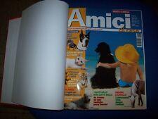 AMICI DI CASA-CANI GATTI E ALTRI ANIMALI-ANNI 1°2°20002001 CARTONATO 12 NUMERI