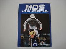 advertising Pubblicità 1980 CASCO MDS e ANDRE' MALHERBE