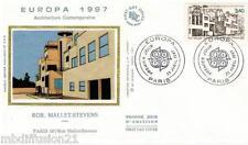 1987**ENVELOPPE SOIE**FDC 1°JOUR!!**EUROPA-ARCHITECTURE**TIMBRE Y/T 2472