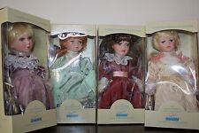 "4 DOLLS Maud Humphrey ""Hurray for All Girls Band"" doll collection LTD ED"