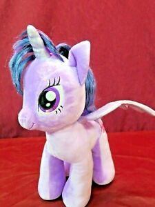 "Build A Bear Large 17"" My Little Pony Princess Twilight Sparkle Plush Unicorn"
