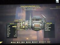 Fallout 76 PS4 Furious FR Gatling Plasma. Faster Reload