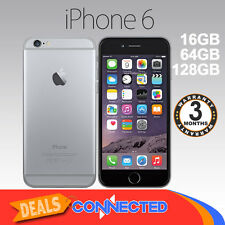 AS NEW Apple iPhone 6 16GB Space Grey Smartphone 4G Unlocked Mobile Phone