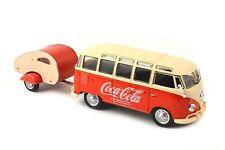 Coca Cola Model Volkswagen Samba Bus 1962 Diecast 1/43 Motor City Model Car