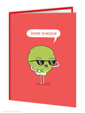 Funny Christmas Xmas Greeting Cards Comedy Humour Novelty Joke Brussel Sprouts