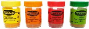 25g QUALITY CONCENTRATED FOOD CAKE COLOURING POWDER, PLAY DOUGH - SELECT COLOURS