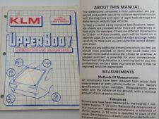 1989 Domestic Cars & Trucks Klm Upper Body Dimension Manual Collision Repair