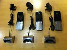 Bundle 3x Siemens Gigaset SL785 Cordless Phone + 3x Charger Cradle Base