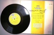"Mozart Piano Sonatas & Menuett Carl Seeman 10"" Lp Deutsche Grammophon LP.16120 Exc"