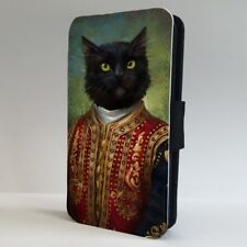 Cat Suit Funny Art FLIP PHONE CASE COVER for IPHONE SAMSUNG