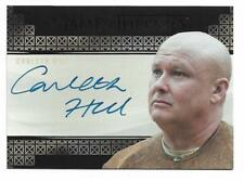 2017 Game of Thrones Valyrian Steel Autograph Conleth Hill as Lord Varys EL