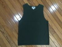 Chico's Design Women's Olive Tank Sleeveless Top Blouse Size 1