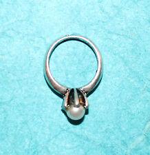 Pendant Ring Charm Pearl Ring Charm Mermaid Treasure Oyster Charm Pearls Wedding