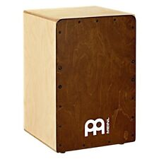More details for meinl sc100ab snarecraft cajon drum, almond birch frontplate