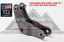 "US MADE TRACK BAR BRACKET 2.5-6"" LIFT 03-08 DODGE RAM 2500 3500 4WD 4-WD 4X4"