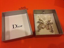 CHRISTIAN DIOR MISE EN DIOR TRIBAL PEARL DROP EARRINGS LIMITED EDITION AUTHENTIC