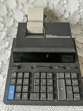 Royal 8500PD 12 Digit 2 Color Professional Ribbon Printer Electronic Calculator