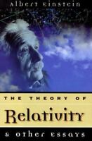 Theory of Relativity and Other Essays Hardcover Albert Einstein