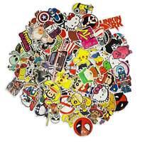 100 Aufkleber / Sticker-bomb Retro-, Graffiti- Style,Tuning Logos & Marken -Set4