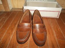 Vintage Bostonian Stress Relief Fine Golf Shoes Leather 11.5, # 24123 MENS Shoe