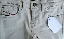 DIESEL Gray Slim Stretch Skinny Low J 5 Pocket Jeans Pant Size 12Y fast ship!