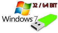 Windows 7 USB Stick Home / Pro / Ultimate 32 Bit / 64 Bit DE auf 16GB USB Stick