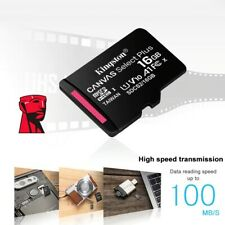 100% Original Kingston Micro SD canvas select plus 8gb 16gb 32gb memory card hc