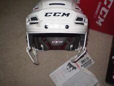 New CCM Resistance NHL/AHL Pro Stock/Return medium ice hockey helmet white