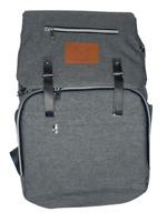 Keababies Diaper Bag Backpack Large Waterproof Travel Baby Classic Gray