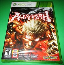 Asura's Wrath Xbox 360 Factory Sealed!!  Free Shipping!!