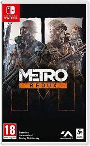 Metro Redux UK Pal Brand New Sealed for Nintendo Switch & NS Lite