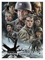 Saving Private Ryan Limited Edition Poster Rare Giclee Print