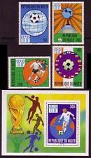 Football Nigerien Stamps