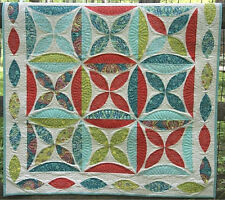 New Quilt Pattern Pieced Blossoms 40 x 40