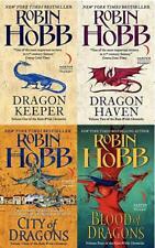 Robin Hobb RAINWILDS CHRONICLES Fantasy Series Paperback Collection Set 1-4