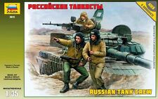 ZVEZDA 3615 RUSSIAN TANK CREW SCALE MODEL KIT 1/35 NEW
