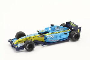 Fernando Alonso Renault R26 #1 Formel 1 Weltmeister 2006 1:43 Norev