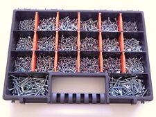 NEW Tool Box Bits Storage Organiser 20 Compartments Case Screws Diy Assorted