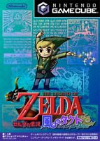 USED Gamecube Tact of The Legend of Zelda: Wind 06198 JAPAN IMPORT