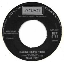 "Duane Eddy "" Because they're young ""  Angleterre"