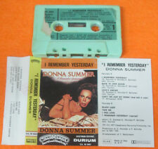 MC DONNA SUMMER I remember yesterday 1977 italy DURIUM 5501 no cd lp vhs dvd