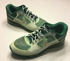 Nike Mens Size 12 Green & White New York Jets Tennis Shoes TR1.360