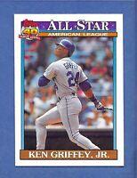 1990 Topps Ken Griffey Jr. Seattle Mariners #392 MINT & DEAD Centered!